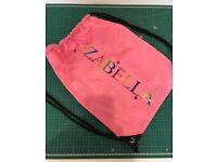 Personalised kit bag!