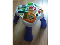 vtech toy activity table interactive toy