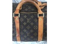 Authentic Louis Vuitton Keepall 55 Good condition