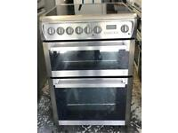 Hotpoint ceramic electric cooker 60 cm very good condition nice 👍🏿