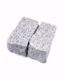 Natural Granite Setts / Cobbles - 200x100x100