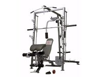 Marcy Diamond Elite Home Gym & Smith Machine - Complete with Bench (Excellent Condition)