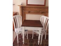 Cute Little Table and Chairs for Two