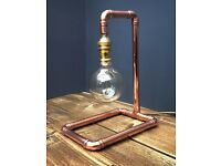 Copper pipe retro industrial lamps