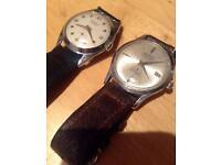 Antique clockwork watches