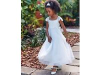Monsoon ivory bridesmaid or party or christening dress Age 3