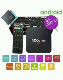 MXQ PRO ANDROID TV BOXES NEW 64 BIT ANDROID 5.1!