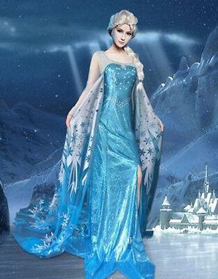 Frozen Dress Up Costume, Snow Queen Elsa, Disney Princess