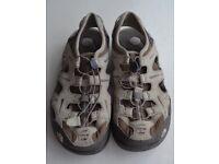 The North Face Sandals Brown Beige Walking Shoes X2 Model Mens Women's UK 7