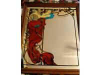 Vintage Moët & Chandon Advertising Mirror