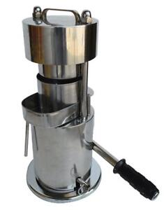 10T Hand Type Hydraulic Fruit Sugar Cane Juicer 134122