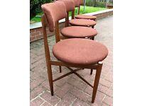 G Plan Fresco Vintage Teak Dining Chairs