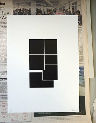 D.M. Kraft – Form Serigraphie Siebdruck Minimalismus Konstruktivismus Bauhaus