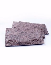 RED GRANITE STONE CLADDING