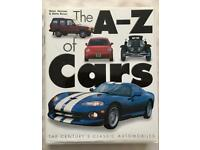 A-Z of cars book