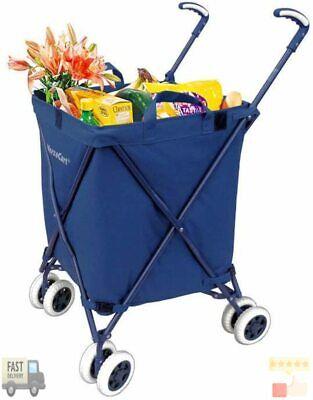 Versacart Transit Original Folding Shopping And Utility Cart Water-resistant