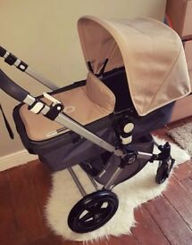 Bugaboo cameleon 2nd generation . Sand &charcoal❤