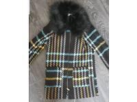 Girls age 8 river island coat