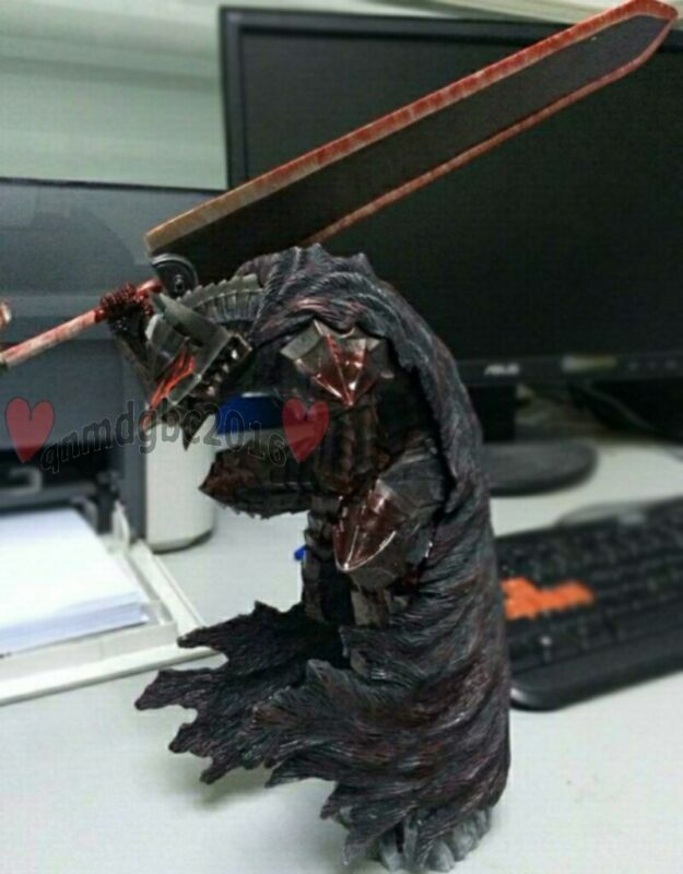 "12"" Berserk Guts Armour ver. Figure statue Collector Edition GK Resin in stock"