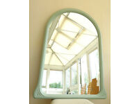 Five Large Attractive Up-cycled Chalk Painted Mirror (Ref 204)