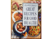 """Readers Digest """"Great Recipes for Good Health """""""