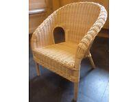 Ikea Wicker Kids Child Chair