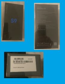 Samsung Galaxy S9 BNIB OCTACORE Processor Midnight Black Unlocked Sim FREE 64GB 4 Gb RAM