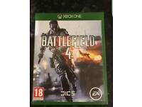 XBOX ONE GAME battlefield 4