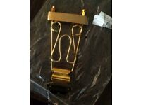 Guitar Tailpiece (Byrdland type) Gold