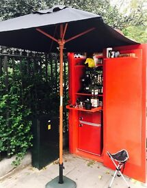 K6 Red Coffee kiosk for rent