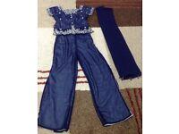 Indian/Pakistani trouser suit size 30 NEW
