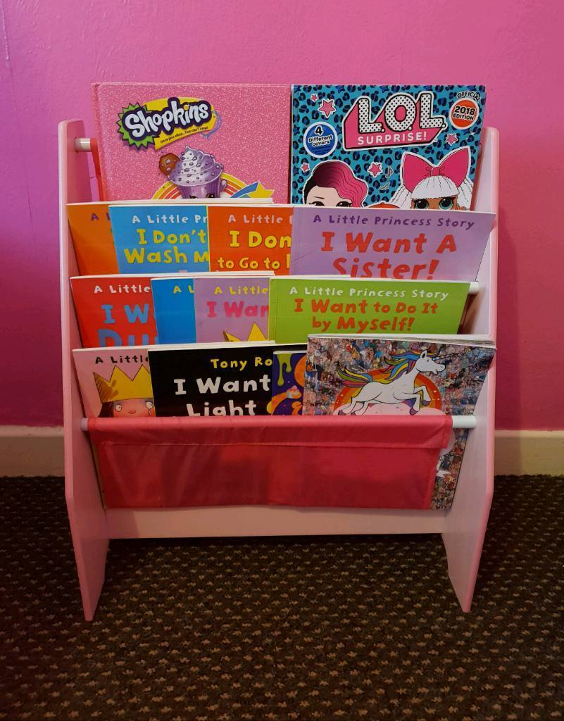 newest 7c8ab 4425e *FOR SALE DISNEY PRINCESS GIRLS PINK SLING BOOKCASE / BOOK CASE*** | in Old  Swan, Merseyside | Gumtree