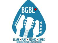 Recorded Guitar and Bass Lessons in Brighton and Hove area. FIRST LESSON FREE