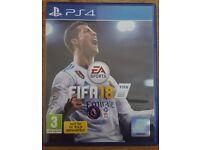 FIFA 18 PS4 LIKE NEW