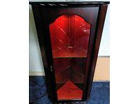 Corner Display Cabinet with Light