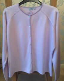 Women's Clothing Lilac Cardigan, Top Size 16 Petite BNWT