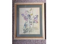 2 Charles Rennie MacKintosh framed prints