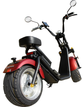 elektro scooter 1200w stra enzulassung citycoco harley. Black Bedroom Furniture Sets. Home Design Ideas