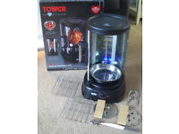 Tower 1500w Vertical Rotate Rotisserie Grill, Meat Fish BBQ Healthy Cooking