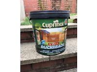 Cuprinol Fence & shed Paint - 5 year Ducksback 9l - Garden