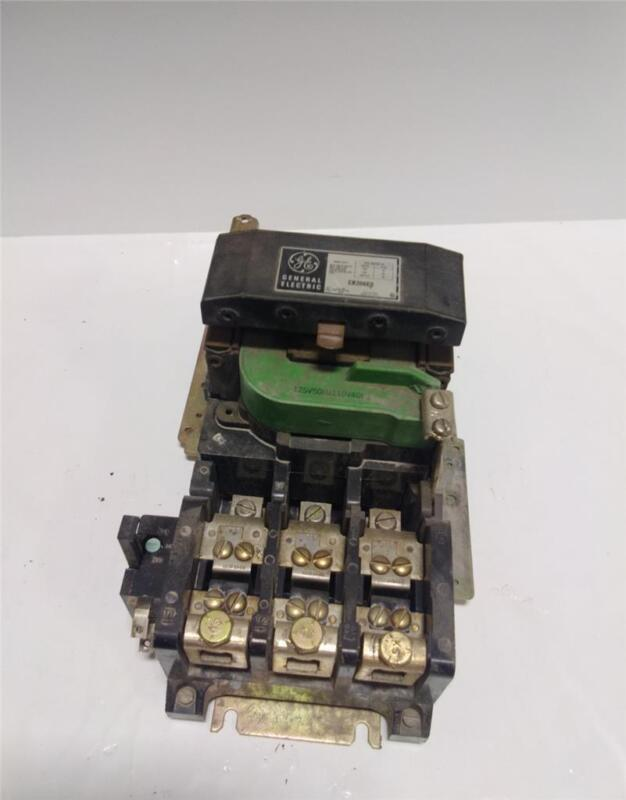 GENERAL ELECTRIC MOTOR STARTER SIZE 3 CR206EO