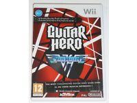 Wii Game Guitar Hero Van Halen