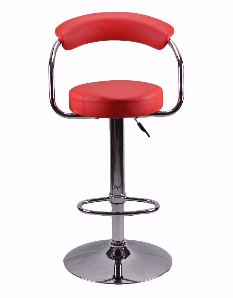 Pics photos bar stools for sale - Sale Red Studio Toledo Kitchen Bar Stool Faux Leather Breakfast High Chair Seat