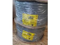2X ELECTRIC CABLE / 100M/4MM / NEW COLOURS / NEW/SEALED / £30 EACH