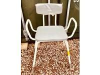 ASTRAL PERCHING STOOL WITH ADJUSTABLE HEIGHT £15 CAN DELIVER