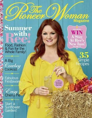 - THE PIONEER WOMAN SUMMER  2018  MAGAZINE  NEW