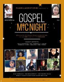 Gospel singers needed for gospel music event