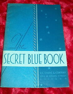 36-H-C-EVANS-catalog-SECRET-BLUE-BOOK-w-1941-price-list-crooked-gambling-cheat
