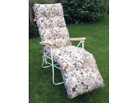 Reclining Sun Lounger Chair