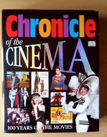 Chronicle of the Cinema - 100 Years of Movies Hardback Book